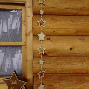 Vánoční Girlanda - 8 hvězd - délka 70 cm