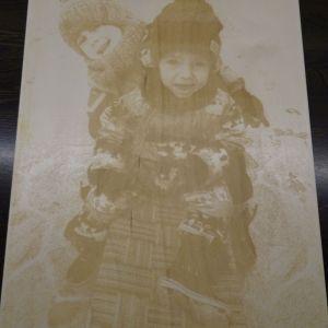 Fotografie gravírovaná na dřevěné desce, formát A3, A4, A5