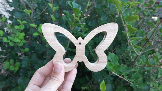 IMwood - Motýlek dubový 1,5cm