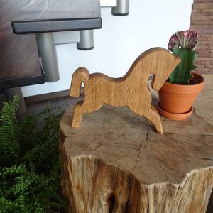 Dřevěný kůň dubový