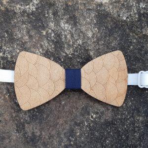 Dřevěný motýlek-pro dospělé-VLNY