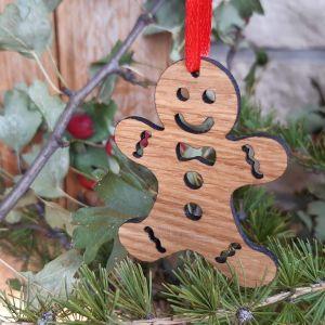Vánoční ozdoba-dubový perníček