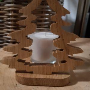 Dubový svícen - stromeček
