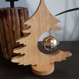 Vánoční dubový strom na baňku