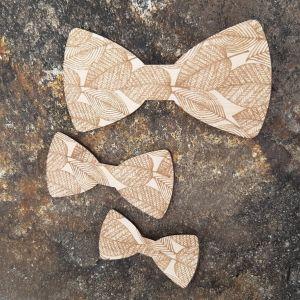 Dřevěný motýlek pro děti -listy