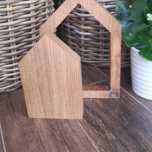 Dřevěné domečky-2ks