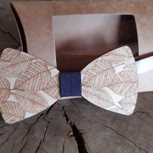 Dřevěný motýlek pro dospělé-listy