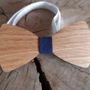Dřevěný motýlek dubový-pro dospělé