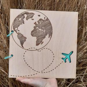 Dřevěné album-DOVOLENÁ