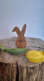 Dřevěné vajíčko-šikmé ucho-malé